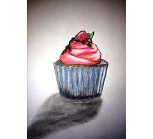 Sweet raspberry Photographic Print