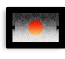 The Sun rises in the east, and sets on the west Canvas Print