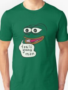 Feels Good Man - Pepe the Frog T-Shirt