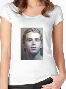 Patrick Kane Mugshot Women's Fitted Scoop T-Shirt