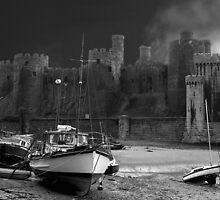 """Conwy Castle"" by Raymond Kerr"