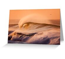 Rye Back Beach Greeting Card