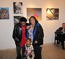 ART EXHIBIT OPENING NOLA by helene ruiz