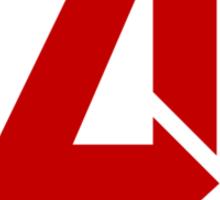 Avengers - Logo - Red Sticker