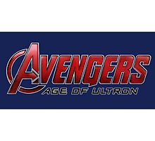 Avengers - Age Of Ultron Photographic Print