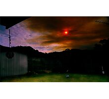 Internal Sunset Photographic Print