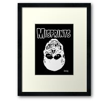 The Misprints Framed Print