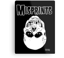 The Misprints Metal Print