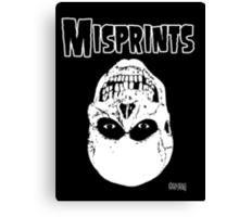 The Misprints Canvas Print