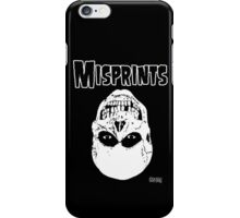 The Misprints iPhone Case/Skin