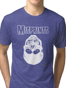 The Misprints Tri-blend T-Shirt