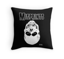 The Misprints Throw Pillow