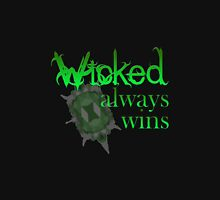 Once Upon A Time - Wicked Always Wins T-Shirt