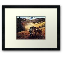 Wolfcreek Pass Framed Print