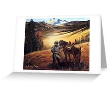 Wolfcreek Pass Greeting Card