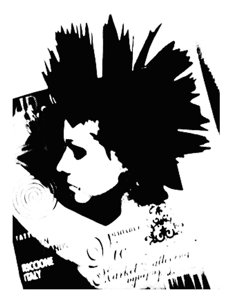 female punk by jonnyriot