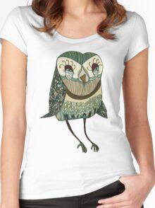 My Garden Owl Women's Fitted Scoop T-Shirt