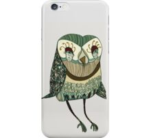 My Garden Owl iPhone Case/Skin