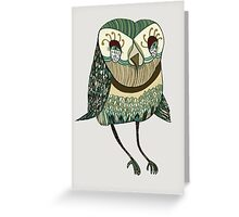 My Garden Owl Greeting Card