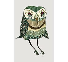 My Garden Owl Photographic Print