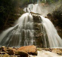 Bayoz Falls, Chanchamayo, La Mercez, Peru by juan jose Gabaldon