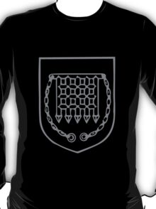 A Complete Guide to Heraldry - Figure 506 — Portcullis T-Shirt