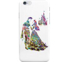 Sleeping Beauty Aurora Disney Princess and Disney Castle Watercolor iPhone Case/Skin