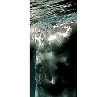 this is water Photographic Print