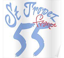 St. Tropez 55 France Poster