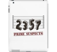 The Prime Number Suspects iPad Case/Skin