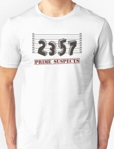 The Prime Number Suspects T-Shirt