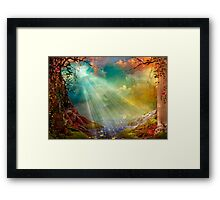 The Secret Grotto Framed Print