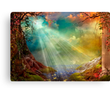 The Secret Grotto Canvas Print