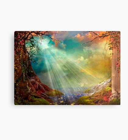 The Secret Grotto Metal Print