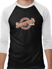 Swerve's Bar - Logo Men's Baseball ¾ T-Shirt