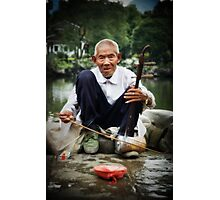 Chinese Musician Photographic Print