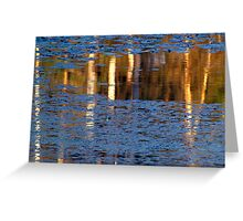 Reflected Birch Greeting Card