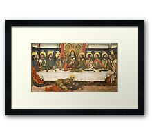 Pedro Berruguete (workshop of) - The Last Supper Framed Print