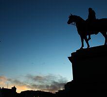 Trafalgar Square Monuments by Roberto Herrett