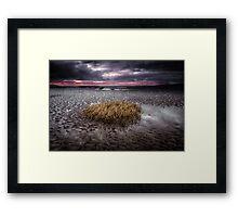 Machynys bay, Llanelli Framed Print