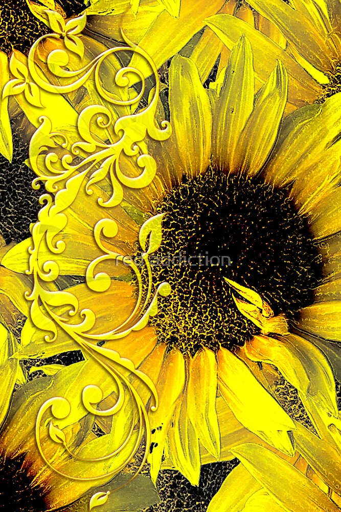 Sunflowers by red addiction