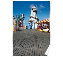 Brighton Pier Funfair Poster