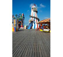 Brighton Pier Funfair Photographic Print