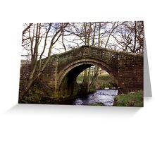 Pack Horse Bridge - Westerdale Greeting Card