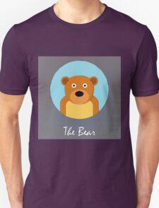 The Bear Cute Portrait T-Shirt