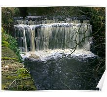 Waterfall at Danby-North Yorkshire Poster