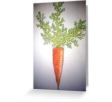 carrot! Greeting Card