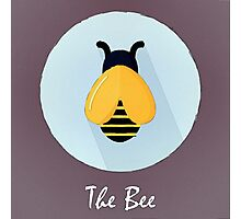 The Bee Cute Portrait Photographic Print