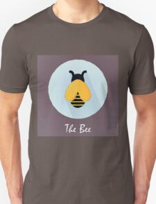 The Bee Cute Portrait Unisex T-Shirt