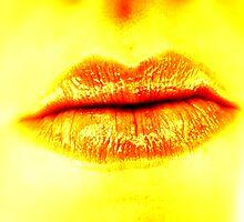 Orange Lips by down23